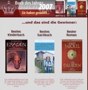 Buch des Jahres 2007